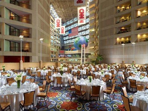 Omni Hotel At Cnn Center - Atrium event