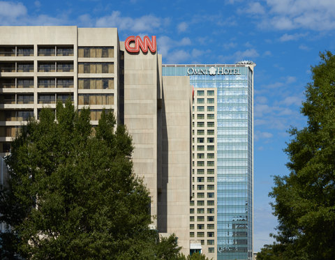 Omni Hotel At Cnn Center - Exterior from the street