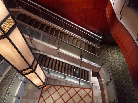 Omni Hotel At Cnn Center - Interior stairwell