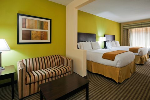 Holiday Inn Express & Suites GREENVILLE - Queen Bed Suite w Sleeper Sofa