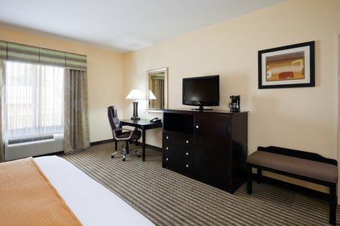 Holiday Inn Express & Suites GREENVILLE - King Bed Guest Room