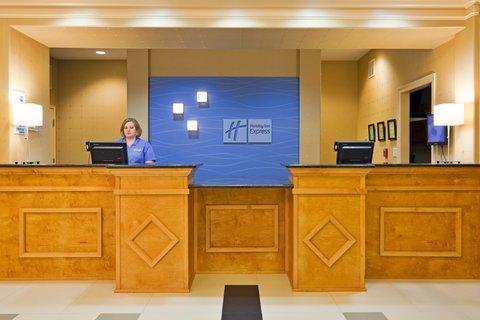Holiday Inn Express & Suites GREENVILLE - Front Desk
