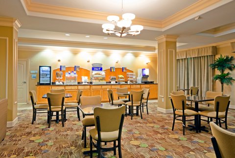 Holiday Inn Express & Suites GREENVILLE - Breakfast Area