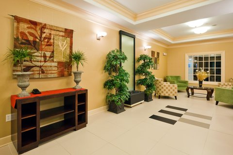 Holiday Inn Express & Suites GREENVILLE - Hotel Lobby