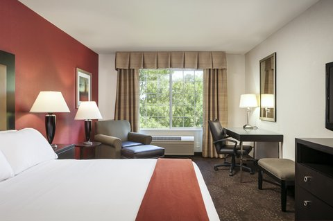 Holiday Inn Express CORVALLIS-ON THE RIVER - King Bed Guest Room Riverview