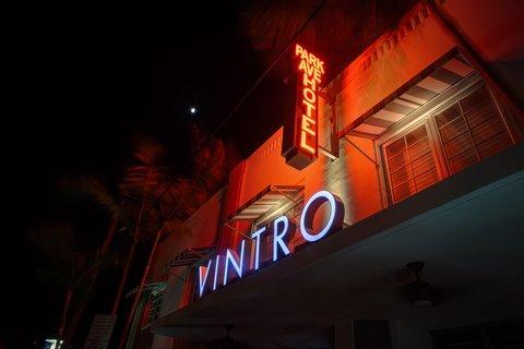 Vintro South Beach - Exterior Logo