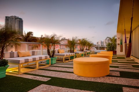 Vintro South Beach - Rooftop Outdoor Terrace