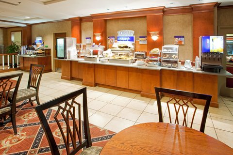 Holiday Inn Express & Suites HAGERSTOWN - Breakfast Area