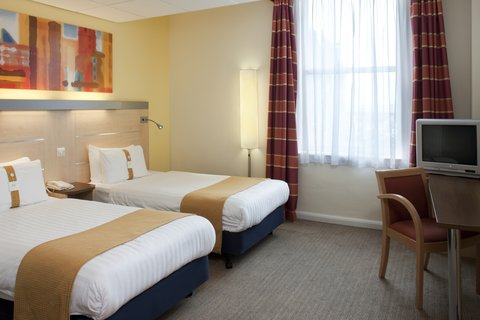 Holiday Inn Express EDINBURGH CITY CENTRE - Twin Bedroom 2 Single Beds