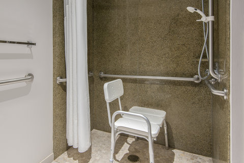 Holiday Inn Express & Suites COOPERSTOWN - ADA Accessible Roll In Shower