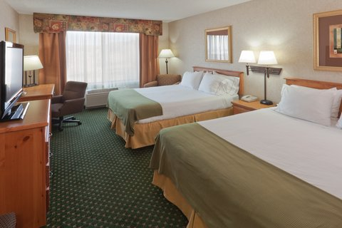 Holiday Inn Express BILLINGS - Queen Bed Guest Room