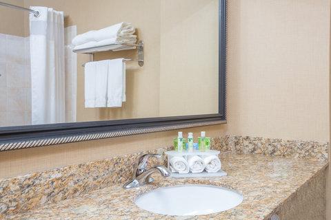 Holiday Inn Express BILLINGS - Standard Guest Bathroom vanity
