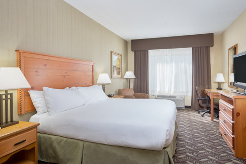 Holiday Inn Express BILLINGS - ADA Handicapped accessible King Suite with mobility tub