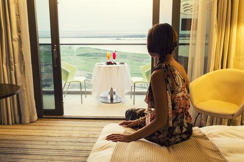 فندق كراون بلازا أبوظبي, جزيرة ياس  - Double Bed Guest Room