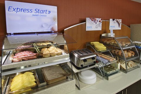 Holiday Inn Express AUGUSTA EAST - Breakfast Bar