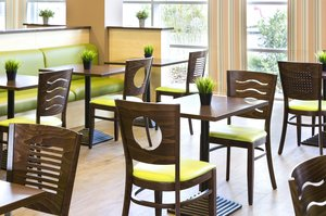 Savor your meal in our comfortable Restaurant area