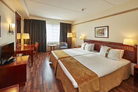 赫尔辛基假日酒店 - Standard Twin Bed room with wooden floor