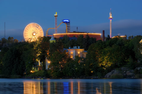 Crowne Plaza HELSINKI - View to the Linnam ki Amusement Park