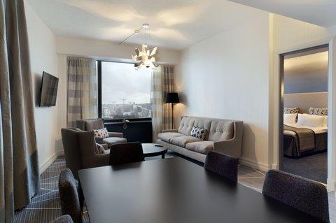 Crowne Plaza HELSINKI - Finlandia Suite is a two bedroom suite  combining suites 910   911