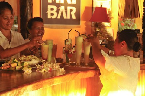 Intercontinental Resort Tahiti - Tiki Bar