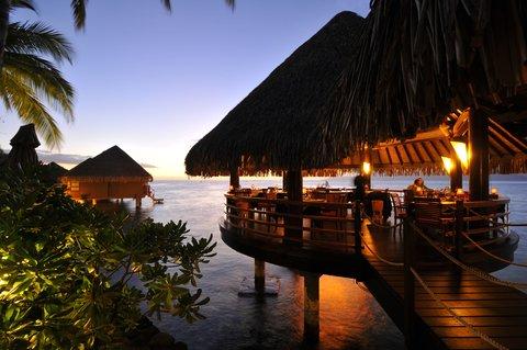 Intercontinental Resort Tahiti - Le Lotus gourmet restaurant