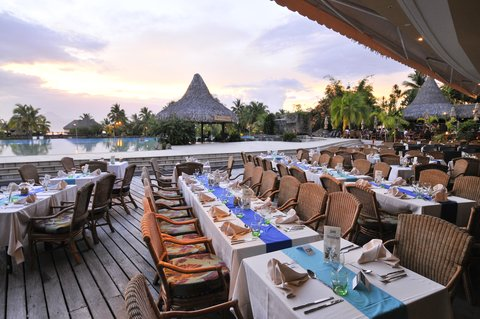 Intercontinental Resort Tahiti - Te Tiare restaurant