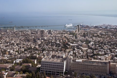 Crowne Plaza HAIFA - View from Hotel