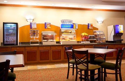Holiday Inn Express & Suites LAKE ZURICH-BARRINGTON - Breakfast Bar