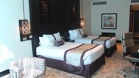 فندق هوليدي ان البرشا - 2 Single Bed Deluxe Club Non Smoking