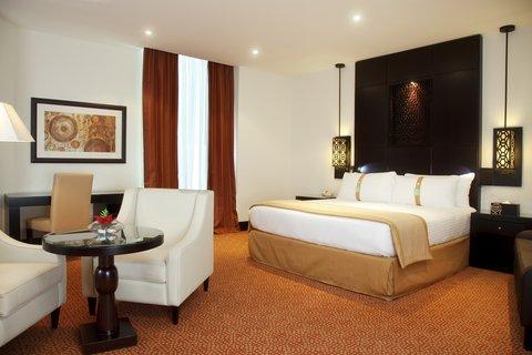 فندق هوليدي ان البرشا - A comfortable Deluxe Room