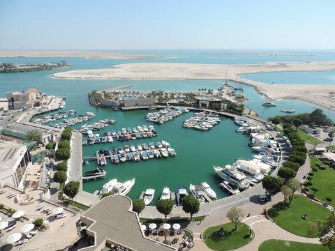 فندق إنتركونتيننتال أبو ظبي  - View from Club InterContinental Lounge