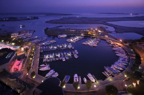 فندق إنتركونتيننتال أبو ظبي  - View from the hotel overlooking the Marina
