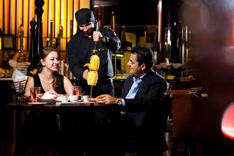 فندق إنتركونتيننتال أبو ظبي  - Chamas Churrascaria   Bar