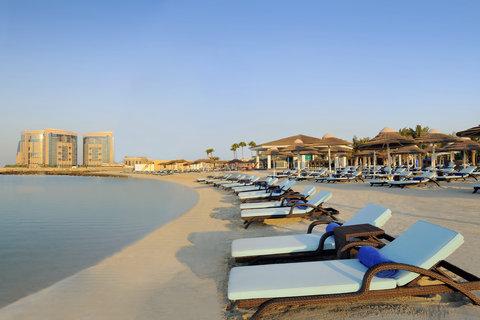 فندق إنتركونتيننتال أبو ظبي  - Beach