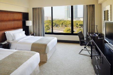 فندق إنتركونتيننتال أبو ظبي  - Twin Guest Room