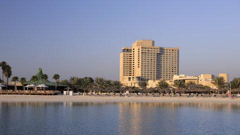 فندق إنتركونتيننتال أبو ظبي  - Hotel from the Sea
