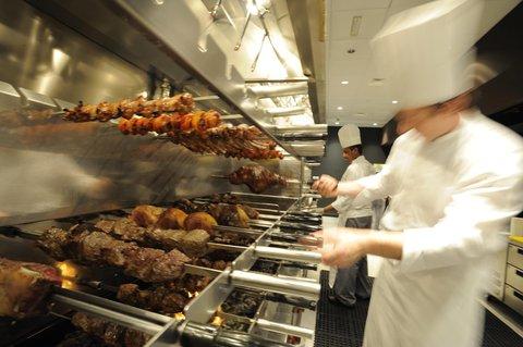 فندق إنتركونتيننتال أبو ظبي  - Chamas Churrascaria Brazilian Restaurant