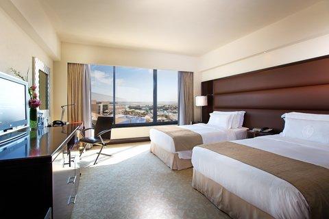 فندق إنتركونتيننتال أبو ظبي  - Twin Deluxe Room Sea View