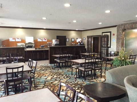 Holiday Inn Express Hotel & Suites Council Bluffs Conv Ctr Area - Complimentary Express Breakfast Bar