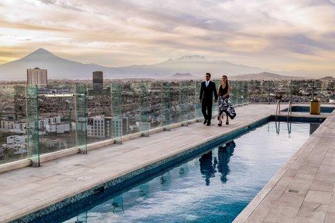Holiday Inn Express & Suites PUEBLA ANGELOPOLIS - Swimming Pool