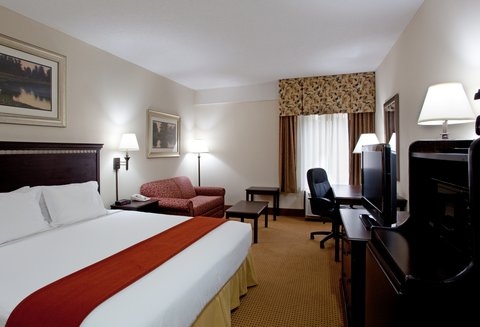 Holiday Inn Express & Suites LEXINGTON-HWY 378 - King Bed Guest Room