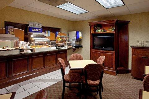 Holiday Inn Express & Suites LEXINGTON-HWY 378 - Breakfast Bar