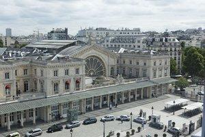 View from Hotel on Gare de l'Est