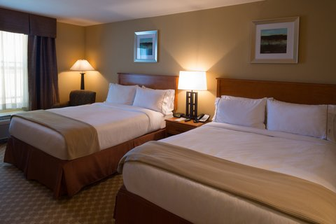 Holiday Inn Express & Suites CHICAGO WEST-ROSELLE - Double Queen Bed Guest Room
