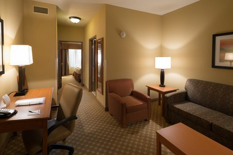 Holiday Inn Express & Suites CHICAGO WEST-ROSELLE - Large Suite With King Bed and Separate Sitting Area