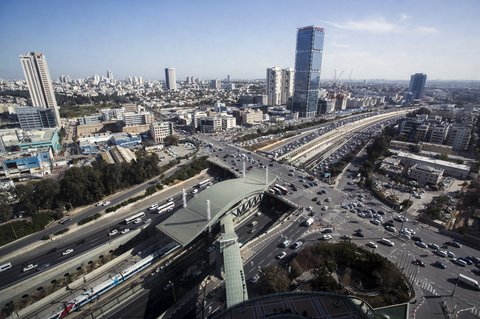 Crowne Plaza City Center Tel Aviv - View from Hotel
