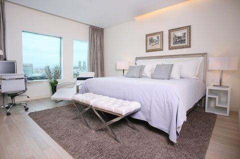 Crowne Plaza City Center Tel Aviv - Presidential Suite  bedroom