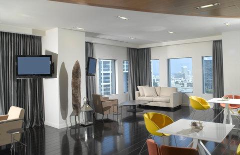 Crowne Plaza City Center Tel Aviv - Club Floor Lounge
