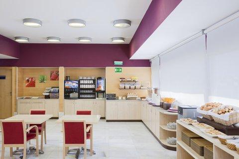 Holiday Inn Express Alcobendas Hotel - Breakfast Area