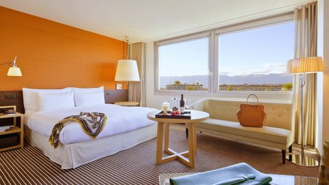 انتركوتيننتال جنيف - Embrace the iconic Geneva experience in an Executive Junior Suite